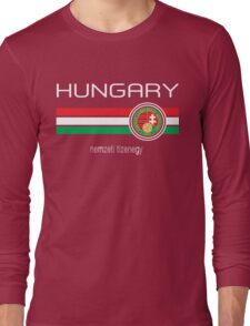 Euro 2016 - Hungary (Home Red) Long Sleeve T-Shirt