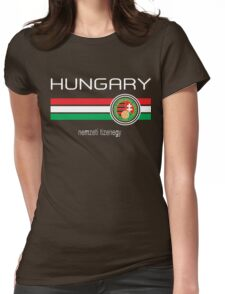 Euro 2016 - Hungary (Home Red) Womens Fitted T-Shirt