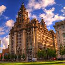 The Royal Liver Building - Liverpool UK by SimplyScene