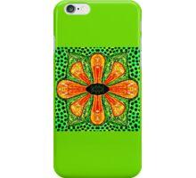 Bright Orange Flower iPhone Case/Skin