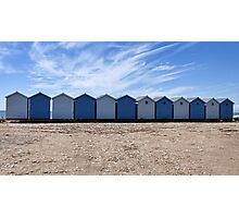 The Blues Of Charmouth, Dorset Photographic Print