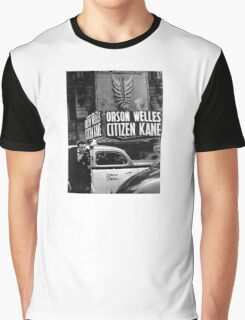 Orson Welles at Citizen Kane premier  Graphic T-Shirt