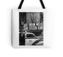 Orson Welles at Citizen Kane premier  Tote Bag