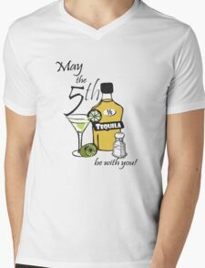 May the 5th be with you Mens V-Neck T-Shirt