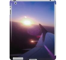 Fly, fly looking at the sun. iPad Case/Skin