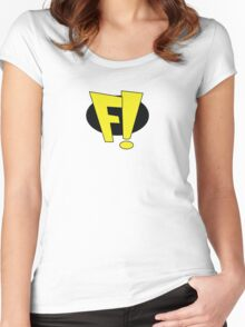 Freakazoid! Women's Fitted Scoop T-Shirt