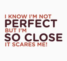 I am not perfect. But I m close! by artpolitic