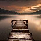 Loch Earn by Andrew Watson