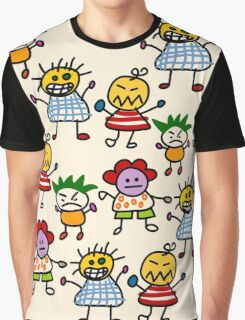 Paper Doll Graphic T-Shirt