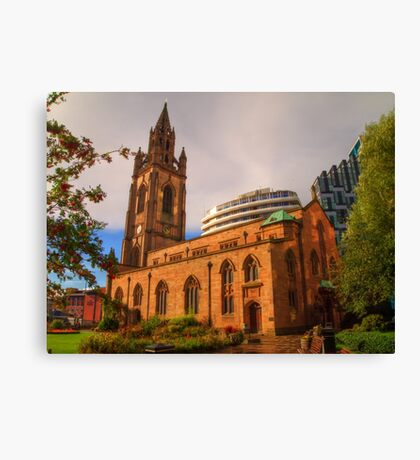 The Church of Our Lady and Saint Nicholas - Liverpool UK Canvas Print