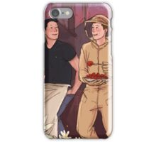 Supernatural pushing daisies crossover iPhone Case/Skin