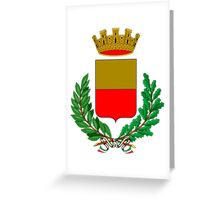 Coat of Arms of Naples, Italy  Greeting Card