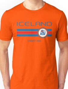 Euro 2016 Football - Iceland (Away White) Unisex T-Shirt