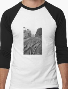 Railroad Men's Baseball ¾ T-Shirt