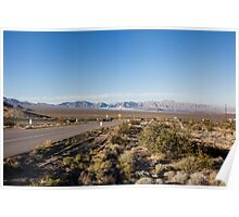 Solar Farm, Death Valley, California, USA Poster