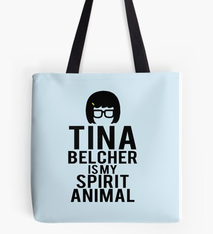 Tina Spirit Animal Tote Bag