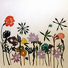 "Flowers in the snow by Belinda ""BillyLee"" NYE (Printmaker)"