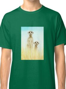 Standing in the grass Classic T-Shirt