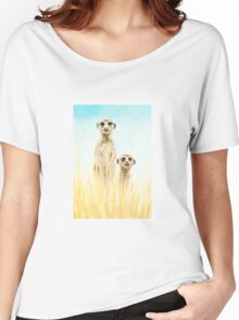 Standing in the grass Women's Relaxed Fit T-Shirt