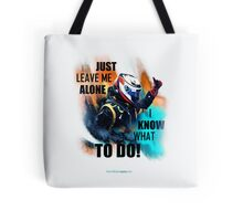 Leave Me Alone I Know What To Do! - iPad Case - Kimi Raikkonen Tote Bag