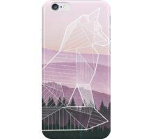 Geometric Nature - Fox (Full) iPhone Case/Skin