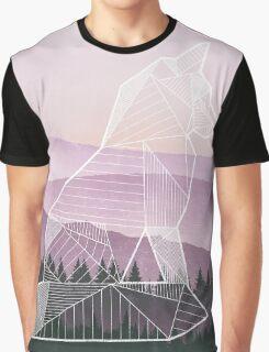 Geometric Nature - Fox (Full) Graphic T-Shirt