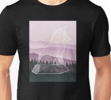 Geometric Nature - Fox (Full) Unisex T-Shirt