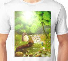 Totoro Fishing Unisex T-Shirt