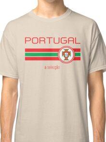 Euro 2016 Football - Portugal (Away White) Classic T-Shirt