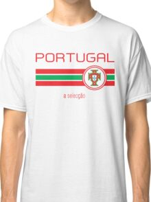 Euro 2016 Football - Portugal (Away White) Classic T-Shirt