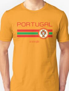 Euro 2016 Football - Portugal (Away White) Unisex T-Shirt