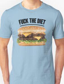 FUCK THE DIET-BLACK T-Shirt