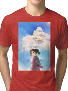 Chihiro - Spirited Away Tri-blend T-Shirt