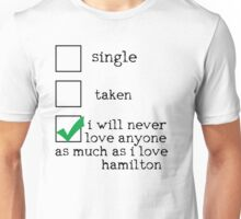 I'm In A Dedicated Relationship With Alexander Hamilton Unisex T-Shirt
