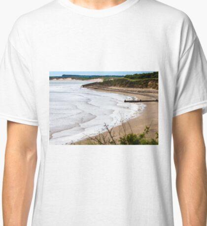 Druridge Bay Near Amble, Northumberland Classic T-Shirt