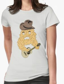 country bubble Womens Fitted T-Shirt