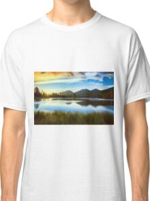 Lake Sunset Classic T-Shirt