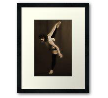 The Dance I Framed Print