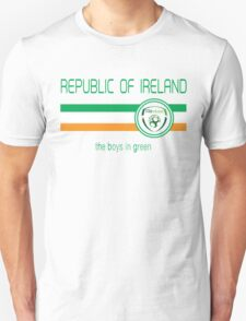 Euro 2016 Football - Republic of Ireland (Away White) T-Shirt