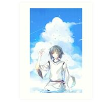 Haku - Spirited Away Art Print