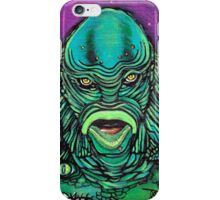 The Creature Lives iPhone Case/Skin