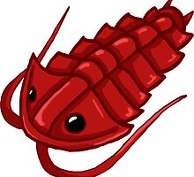 Red Trilobite by Noadi
