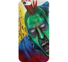 Punk Rock Zombie iPhone Case/Skin