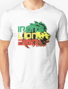 Reggae Rasta Iron, Lion, Zion T-Shirt