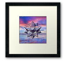 Sacred Geometry Universe VIII Framed Print