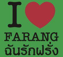 I Heart (Love) Farang One Piece - Short Sleeve