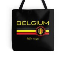 Euro 2016 Football - Belgium (Away Black) Tote Bag