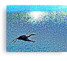 Crane in NC Canvas Print