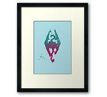 imperial (pastel) Framed Print