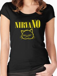 NirvaNO Women's Fitted Scoop T-Shirt